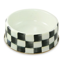 MacKenzie-Childs_Courtly_Check_Pet_Dish