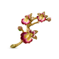 Jay_Strongwater_Halie_Orchid_Branch_Pin