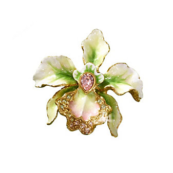 Jay Stronwater Anita Orchid Pin, Small