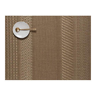 Chilewich Mixed Weave Luxe 14x19 Placemat, Gold