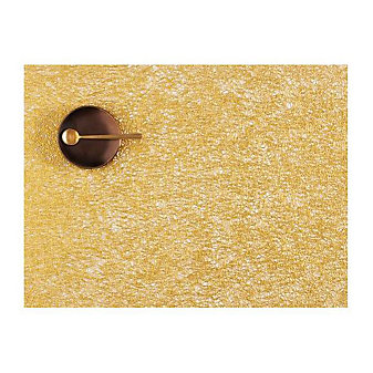 Chilewich Scribble 13.5x18.5 Placemat, Gold