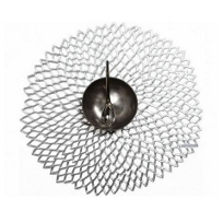 Chilewich_Dahlia_Floral_Placemat,_Silver