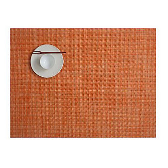 CHILEWICH MINIBASKET TABLE MAT 14X19 CLEMENTINE