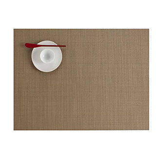 CHILEWICH MINIBASKET TABLE MAT 14X19 NEW GOLD