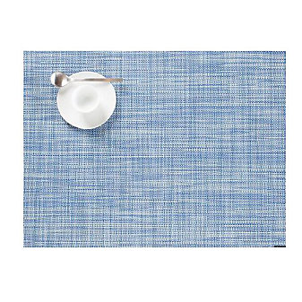 CHILEWICH MINIBASKET TABLE MAT 14X19 CHAMBRAY