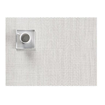 CHILEWICH WAVE TABLE MAT 14X19 GREY