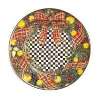 MacKenzie-Childs_Evergreen_Enamel_Salad/Dessert_Plate