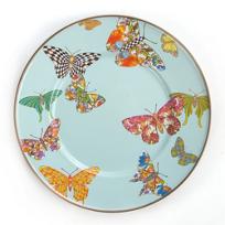 MacKenzie-Childs_Butterfly_Garden_Sky_Salad/Dessert_Plate