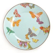 MacKenzie-Childs_Butterfly_Garden_Sky_Dinner_Plate