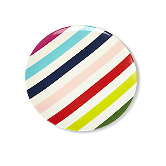 Kate Spade Salut! Multicolor Dinner Plate