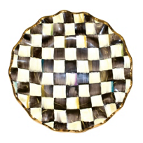 MacKenzie-Childs_Courtly_Check_Fluted_Dinner_Plate