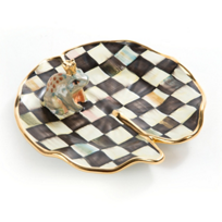 Mackenzie-Childs_Courtly_Check_Ceramic_Frog_on_Lily_Pad