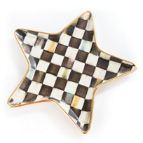 Mackenzie-Childs_Courtly_Check_Star_Plate