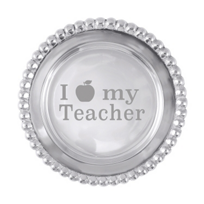 "Mariposa_I_""Apple""_My_Teacher_Wine_Plate"