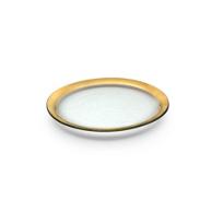 Annieglass_Roman_Antique_Dinner_Plate
