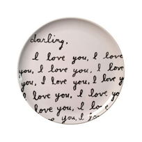Sugarboo_Designs_Darling_I_Love_You_Plate,_Set_of_4