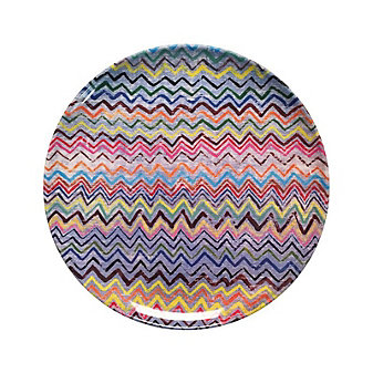 Sugarboo Designs Zig Zag Plate, Set of 4