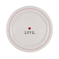 "HONESTLY_GOODS_LOVE_WITH_HEARTS_6""_PLATE"