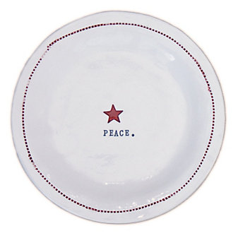 HONESTLY GOODS PEACE WITH STAR PLATE
