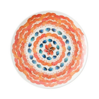 Juliska_Al_Fresco_Oceanica_Melamine_Multi/White_Dinner_Plate