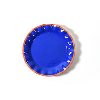 coton colors indigo midcentury mix ruffle plate