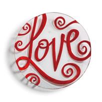 DEMDACO_Love_Round_Plate