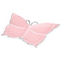 "Julia_Knight_Pink_Ice_Butterfly_Platter,_17"""