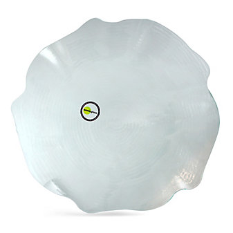 """Annieglass Dune Round Platter, 14.25"""""""