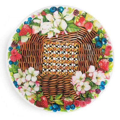 MacKenzie-Childs Berries & Blossoms Serving Platter