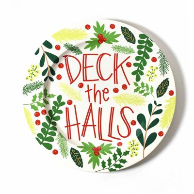 "coton colors holly jolly 14"" platter"