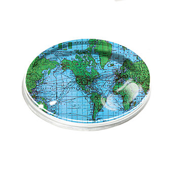 Ben's Garden Vintage World Oval Paperweight