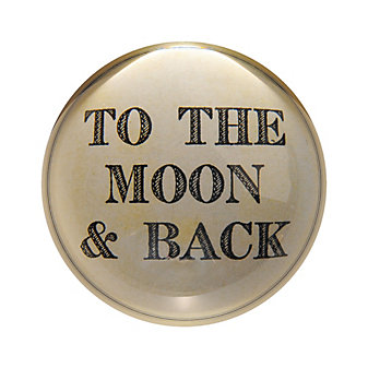 Sugarboo Designs To The Moon & Back Paperweight