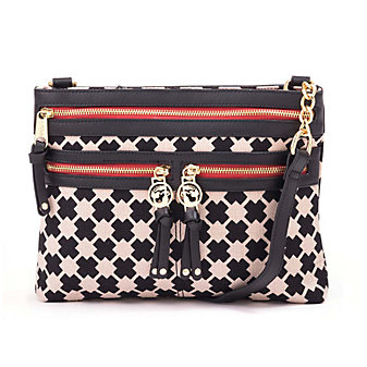 Spartina 449 Ellis Square Zipper Hipster