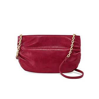Hobo Belle Red Plum Crossbody