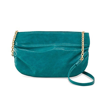 Hobo Belle Teal Green Crossbody