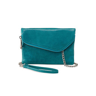 Hobo Daria Teal Green Convertible Crossbody Clutch