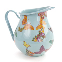 MacKenzie-Childs_Butterfly_Garden_Sky_Pitcher