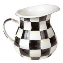 MacKenzie-Childs_Courtly_Check_Enamel_Creamer