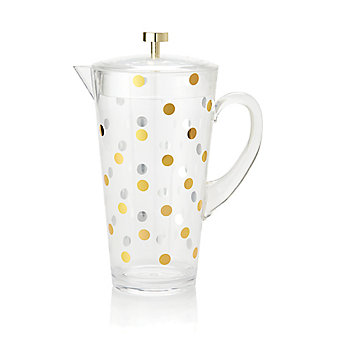 Kate Spade Raise a Glass Water Pitcher