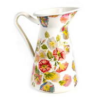 MacKenzie-Childs_Morning_Glory_Practical_Pitcher