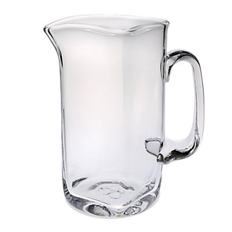 Simon Pierce Woodbury Glass Pitcher, Medium
