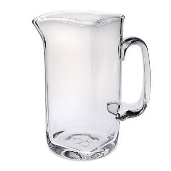 Simon Pierce Woodbury Glass Pitcher, Medium