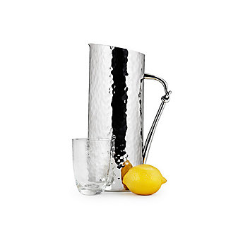 Mary Jurek Helix Water Pitcher with Knot Handle