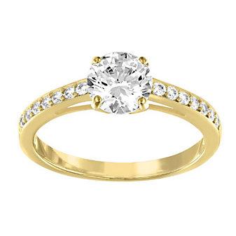Swarovski Attract Medium Round Ring