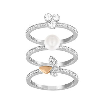 Swarovski Cute Medium Ring Set