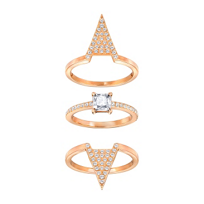 Swarovski_Rose_Gold-Plated_'V'_Silhouette_Funk_Trio_Set