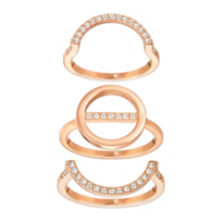 Swarovski_Rose_Gold-Plated__Flash_Trio_Ring_Set