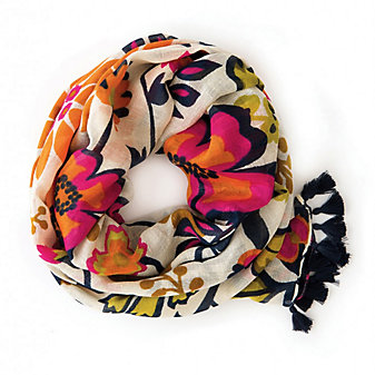 Spartina 449 Floral Pop Whitaker Scarf