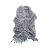 mer-sea_slate_cotton_tassle_wrap_with_bag