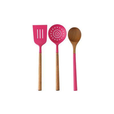 Kate Spade Kitchen Tools S/3 Pink